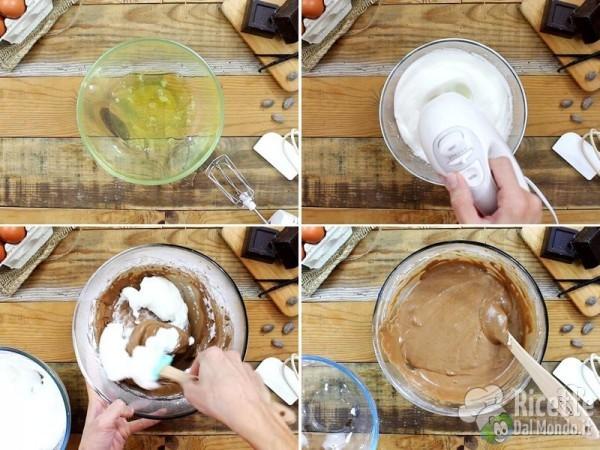 Torta al cioccolato con i buchi 4