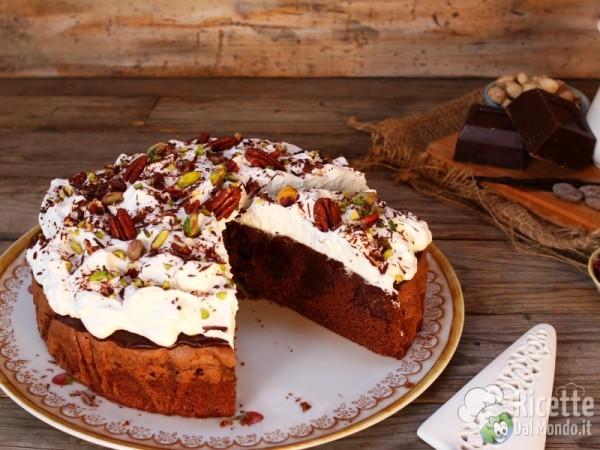 Come fare la poke cake al cioccolato