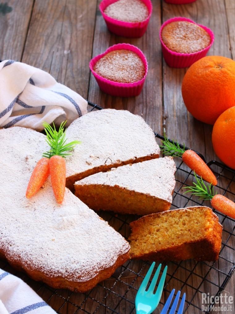 Videoricetta per fare la torta di carote