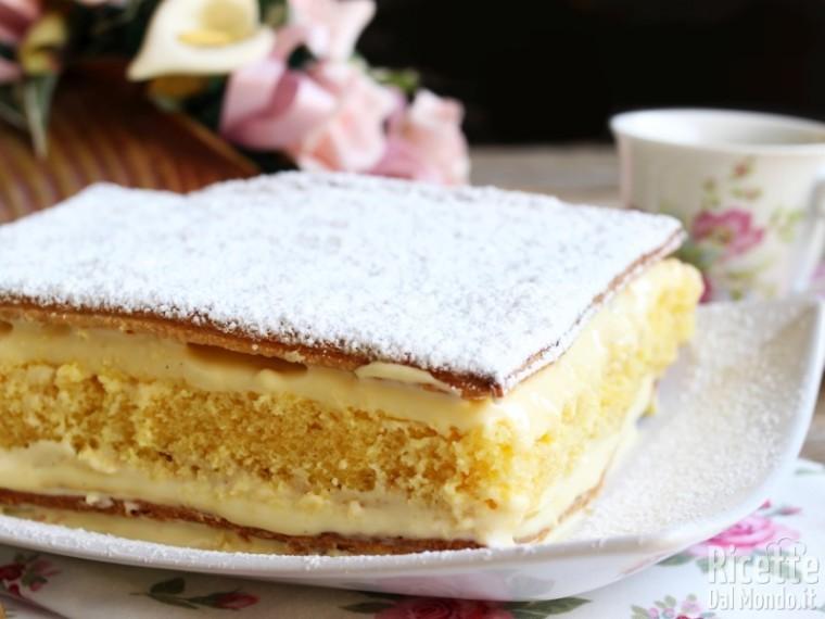 Ricetta torta diplomatica