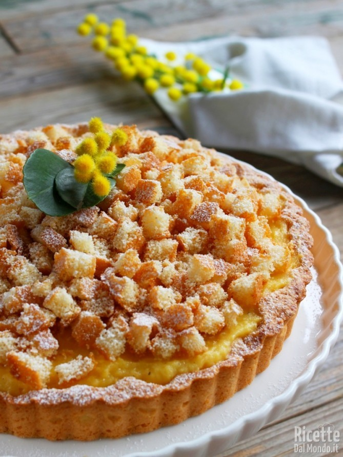 Come fare la crostata mimosa
