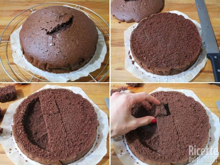 Torta Nutella e mascarpone 8