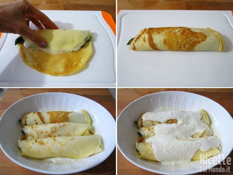 Crepes con asparagi 8