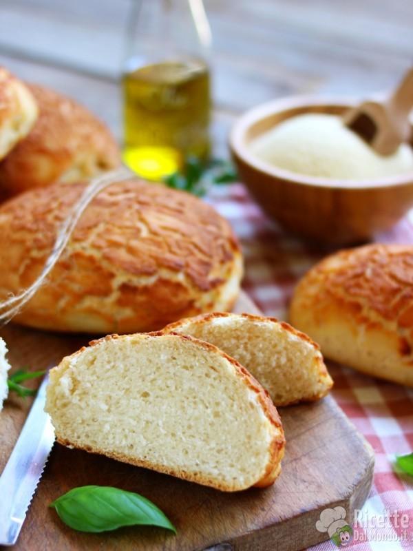Semplice tiger bread fatto in casa