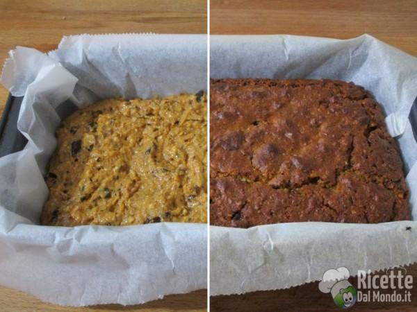 Torta vegana con mandorle e cioccolato 6