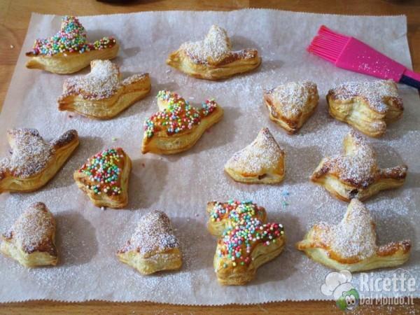Sfogliatine dolci di Pasqua 5