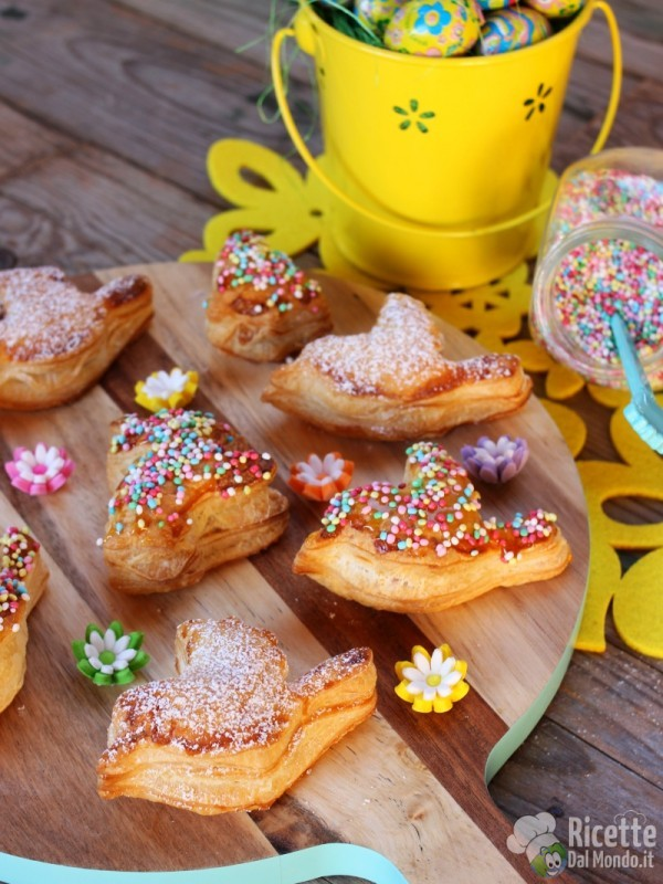 Come fare le sfogliatine dolci di Pasqua