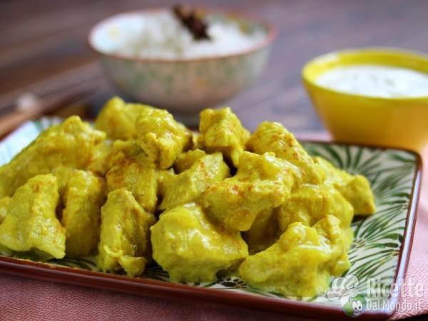 Come fare il classico pollo al curry