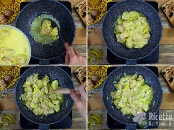 Bocconcini di pollo indiani al curry 9