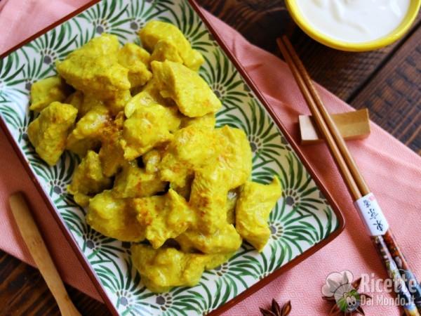 Ricetta Bocconcini di pollo indiani al curry