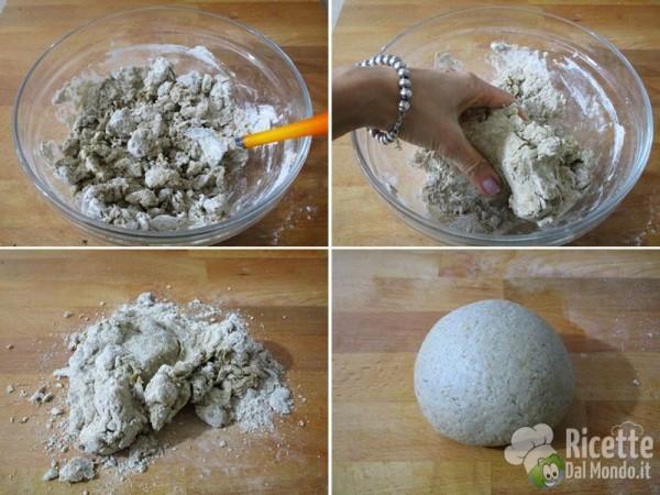 Cestini di farina integrali con verdurine 3