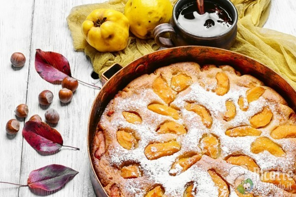 5 usi della farina di riso: torta di mele