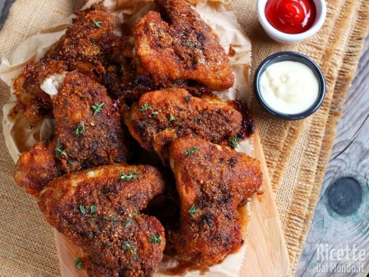Ricetta alette di pollo al forno
