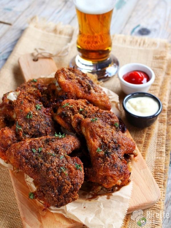 Come fare le alette di pollo al forno