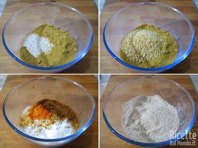 Torta vegana all'arancia e cannella 3