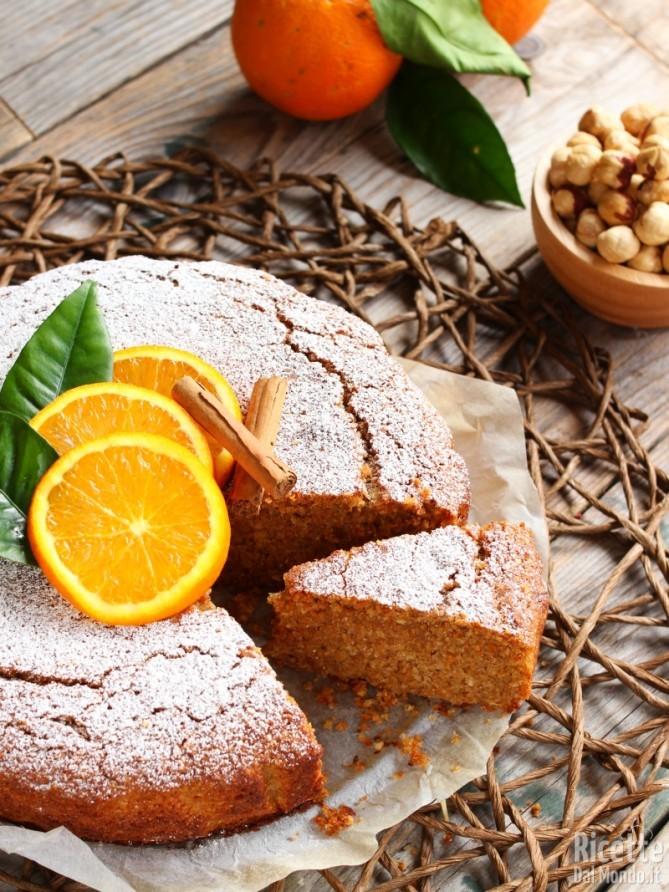 Come fare la torta arancia e cannella vegana