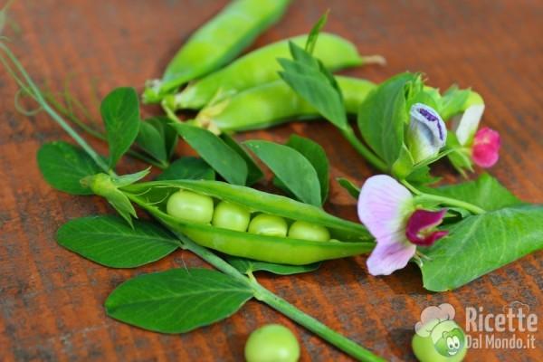 Frutta e verdura di Aprile: i piselli