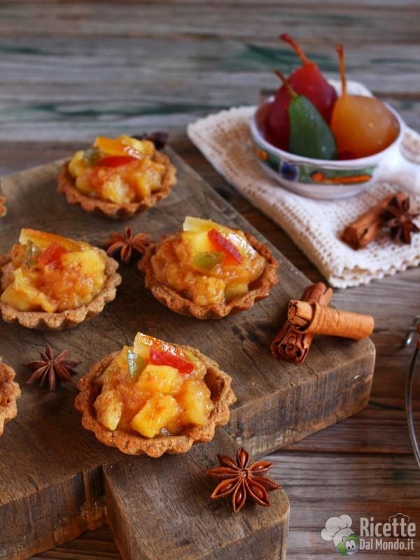 Come fare le crostatine integrali con composta di mele