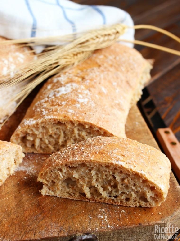 Come fare il pane veloce integrale