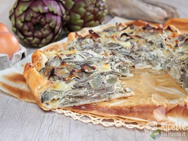 5 quiche e torte salate per la primavera: Torta salata ai carciofi