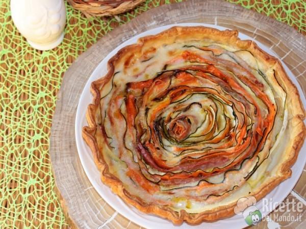 5 quiche e torte salate per la primavera: torta salata alle verdure
