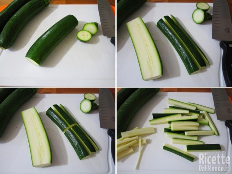 Zucchine croccanti al forno 2
