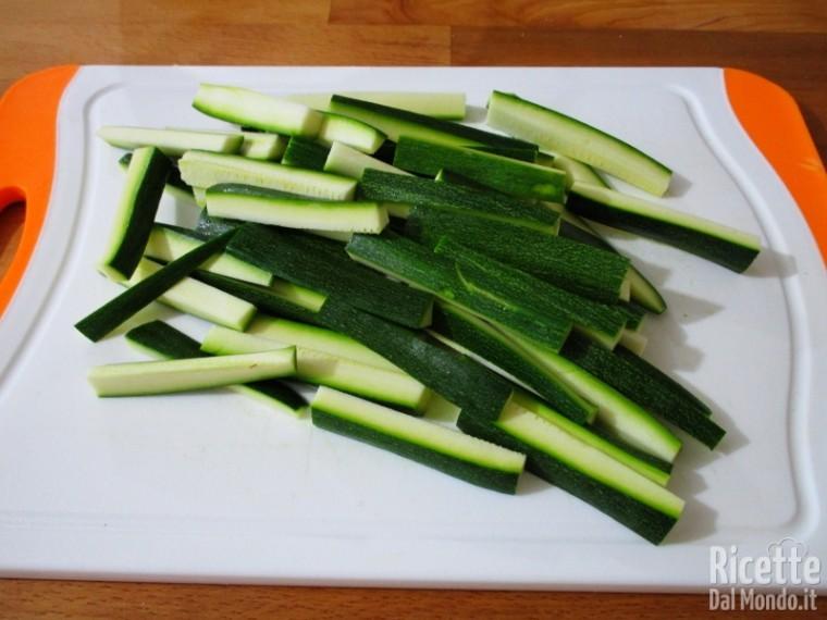 Zucchine croccanti al forno 3