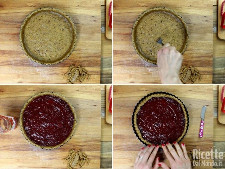 Crostata alla marmellata vegana 6