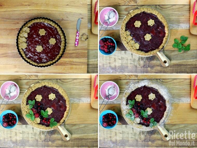 Crostata alla marmellata vegana 7