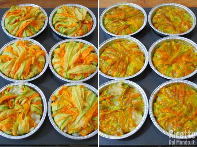 Timballini di risotto alla zucca 8