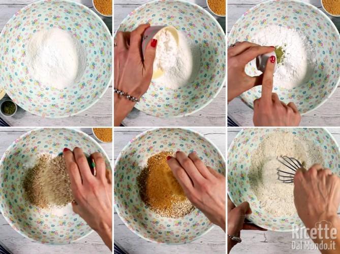 Torta senza glutine con mandorle e tè matcha 3