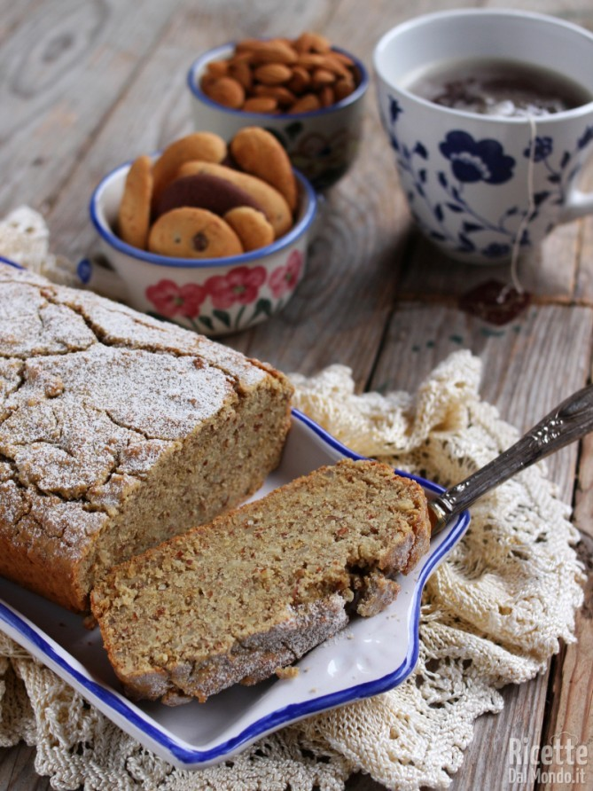 Torta senza glutine con mandorle