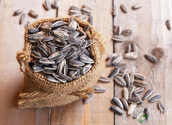 Semi in cucina: semi di girasole