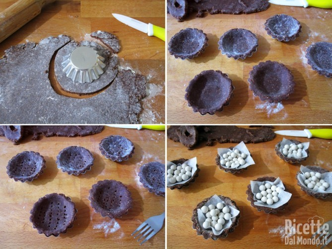 Dolcetti alle nocciole e cioccolato 5
