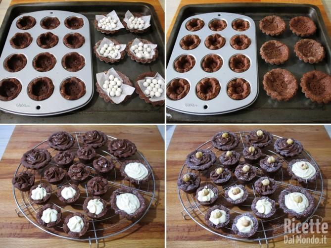 Dolcetti alle nocciole e cioccolato 7