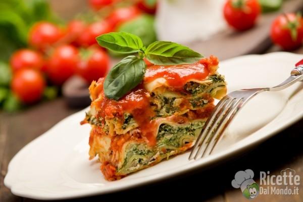 5 lasagne vegetariane: agli spinaci
