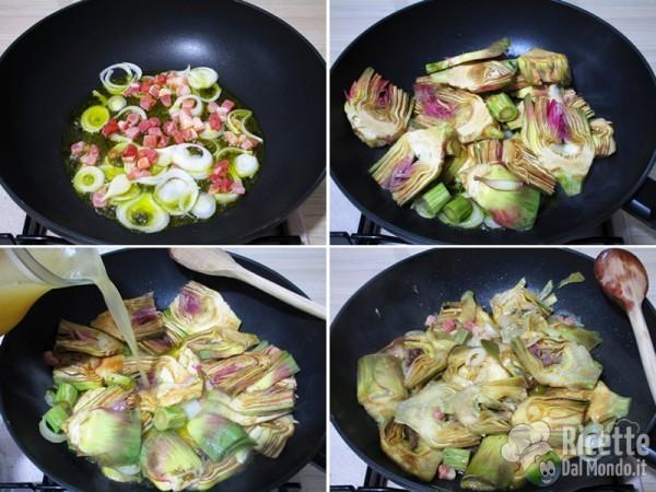 Zuppa di verdure primaverili alla romana 4