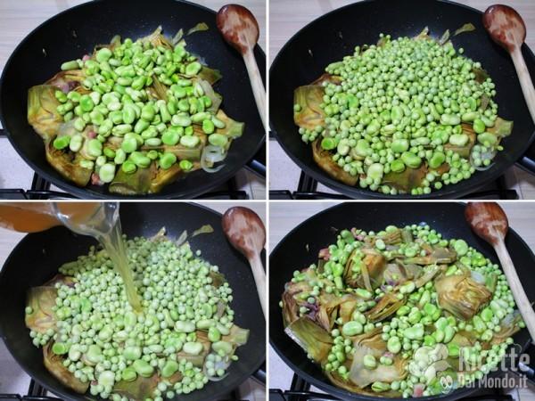 Zuppa di verdure primaverili alla romana 5