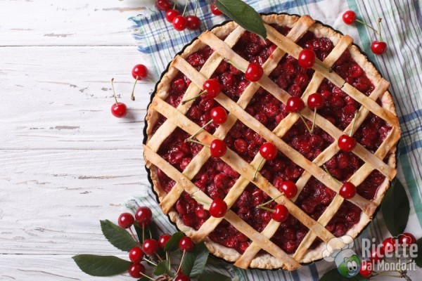 10 ricette con le ciliegie: crostata