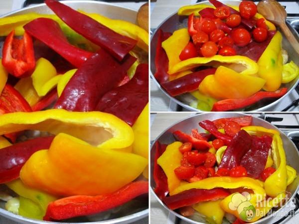 Cosce di pollo ai peperoni 5