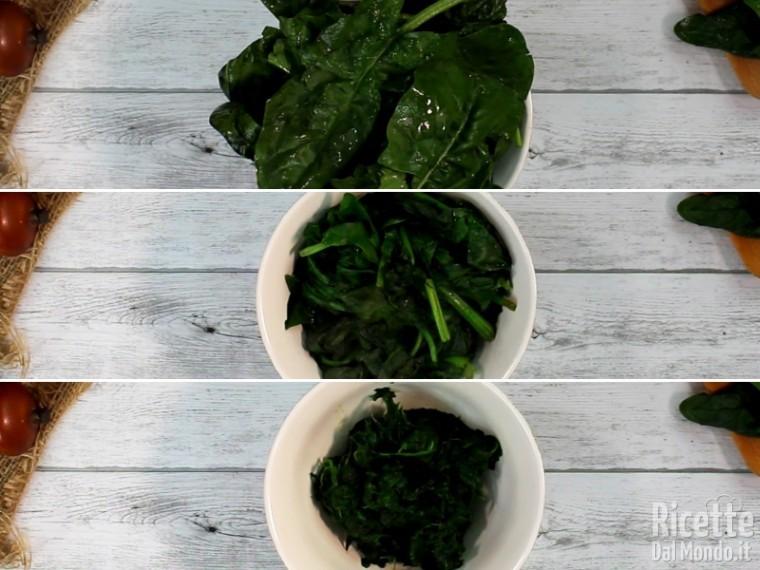 Polpette spinaci e ricotta 2