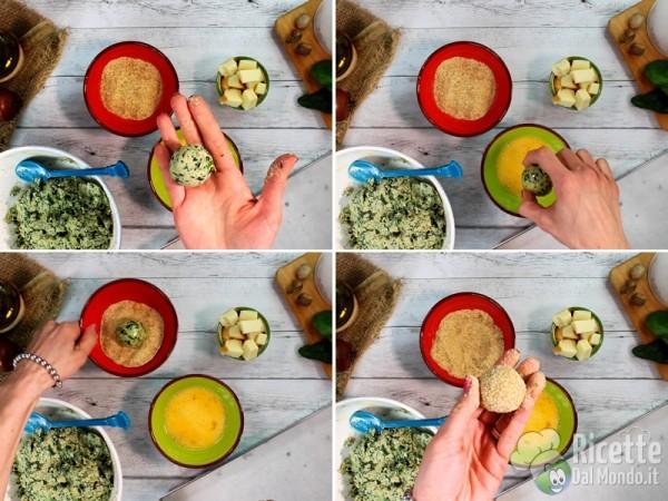 Polpette agli spinaci 7