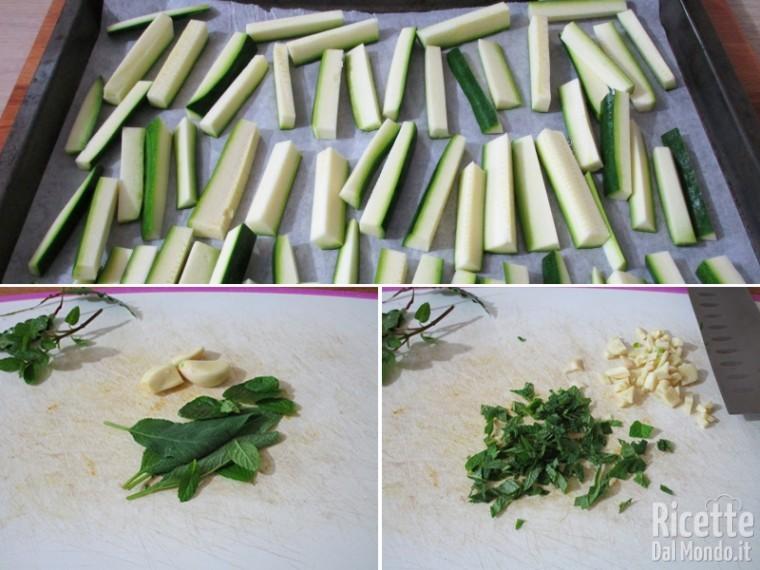 Zucchine fritte marinate in carpione 3