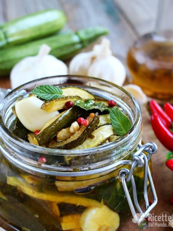 Come fare le zucchine in carpione