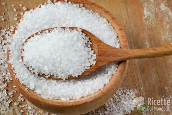Tipi di sale: sale in cucina