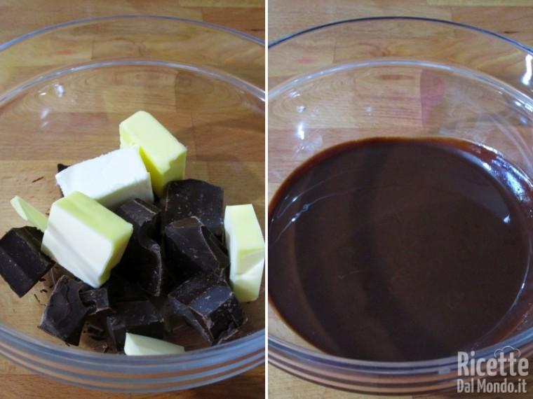 Torta al cioccolato lindt 2