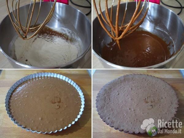 Torta al cioccolato lindt 4
