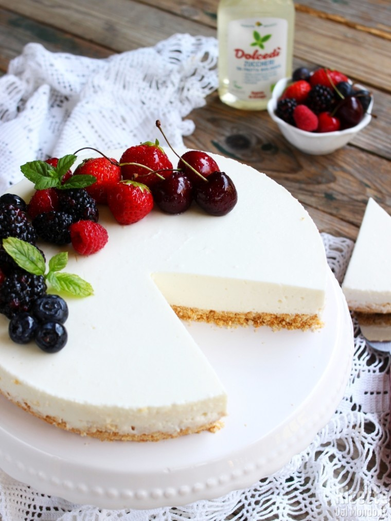 Ricetta cheesecake light