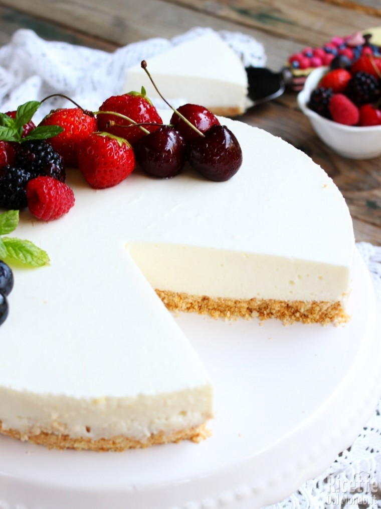 Come fare una cheesecake light