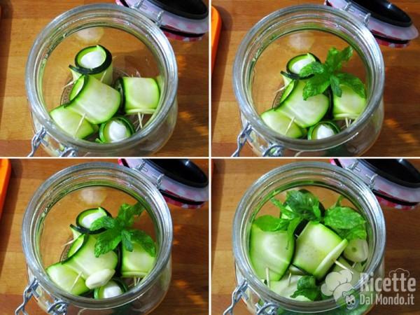Rotolini di zucchine senza cottura 4